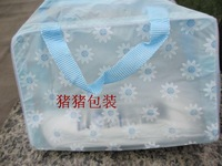 Print translucent waterproof pvc wash bag wash bags cosmetic bag bath products tourism supplies