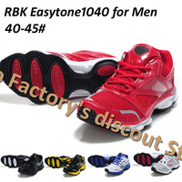 Free Shipping RBK Easytone1040 for Men 5 colors Running shoes men sports shoes 40-45# high quality