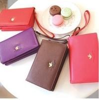 Free shipping The shinzi katoh multifunctional mobile phone wallet card package bag passport package