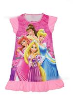 Free Shipping,4pcs/lot,Four princess,Kids' girl clothes nightgowns baby kids sleepwears wear kids princess nightgown