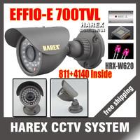 "1/3"" Sony Effio-e 700TVL 811+4140 960H 36pcs IR LEDS outdoor/indoor waterproof CCTV Camera with bracket.Free shipping"