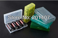 2013 new 18650 CR123A 16340 Battery Case Box Holder Storage Container free shipping cost