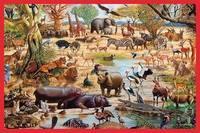 Child gift animal puzzle 60 003 set 8