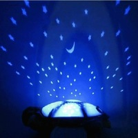 2013 The most  popular Light-Up Toys Music turtle lamp starry sky projector lamps sleep mantianxing lamp romantic night light