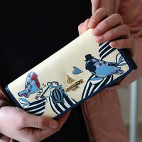 2013 Women's Wallet Long Design Print Brief Day Clutch Female's Clutch