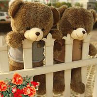 The original teddy bear plush toy bear hug the bear stuffed  toy cute doll wedding  gift 60com