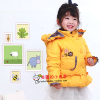 Free shipping Child down coat mitch female child baby children's clothing children female and infants