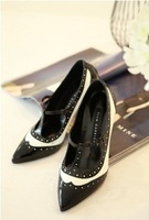2013 pointed toe fashion high-heeled shoes ol shoes