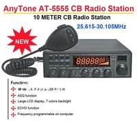 AnyTone AT-5555 25.615MHz-30.105MHz  CB(Citizens Band) 10 Meter Radio Station