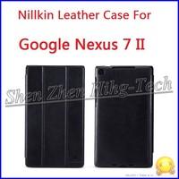 HK Post Freeship!Original Nillkin PU Leather Case For Nexus 7 II 2013,Screen Protector+Retail Box