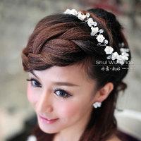 Free Shipping!Handmade hair accessories/bridal hair wear/ wedding Hair ornament ,SW132