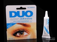 20pcs/lot FreeShipping DUO WATER PROOF EYELASH ADHESIVE EYELASH GLUE CLEAR 9g