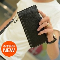 Trend men's clothing male casual long design wallet men's wallet fashion wallet coin pocket