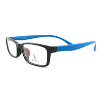 New arrival tr90 ultra-light glasses myopia eyeglasses frame full frame memory male Women 8032