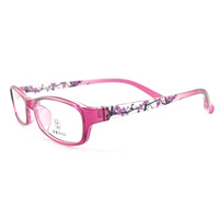 Tr90 ultra-light glasses myopia eyeglasses frame full frame memory small Women 8035