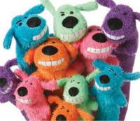 Long loofah dog plush toy pet toy vocalization dog toys teddy