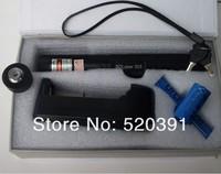 Wholesale - green laser pointer 10000mw 10w high power focusable can burn match,burn cigarettes,pop balloon,laser 303