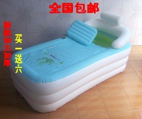 Yingtai plus size thickening inflatable bathtub beauty thermal sauna bathtub folding tub