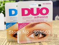 Wholesale : High quality DUO eyelash adhesive waterproof False eyelashes glue 9G White. 24pcs/lot. free shipping