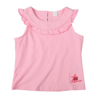 Summer new arrival child tank baby sleeveless vest T-shirt internality
