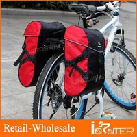30L Bicycle Bag Double Pack Package Hand Bag Mountain Bike After Stacking Shelf Bag Ride Bag For Cycling