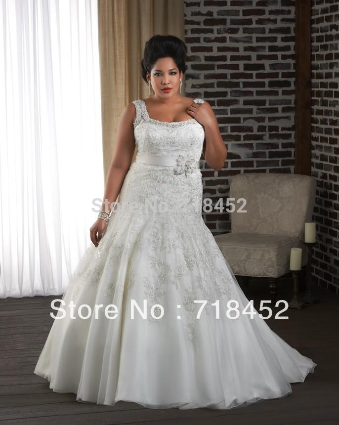 bn1313 plus size corset wedding dress a line shoulder straps top lace