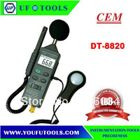 CEM DT-8820 4 in 1 Multifunction Environment Meter with Sound Level Meter, Light Meter, Humidity, and Temperature Fuction