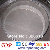 38 Micron stainless steel wire mesh test sieve