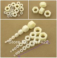 High Quality M4 Nylon Hex Nut Fastener Supply