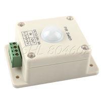 New DC 12V~24V 8A Automatic LED PIR Motion Sensor Switch Light Lighting