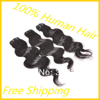 Queen hair products peruvian body wave,100% human hair weave 4/6pcs a lot Grade 4A, peruvian remy hair extension free shipping