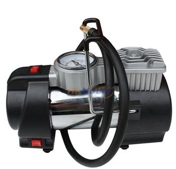 Blue bell car air pump car air pump auto play pump car inflatable tyre pump + car adapter