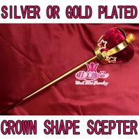 wholesale crown shape scepters pageant scepter rhinestone scepter mk018