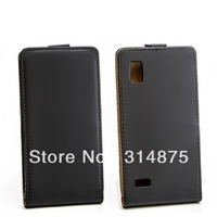 New Flip Genuine Leather Case For LG Optimus L9 P760