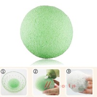 Natural Konjac Konnyaku Facial Puff Face Wash Cleansing Sponge Green M3AO
