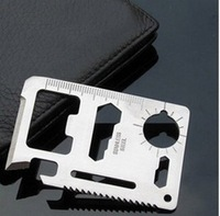 Multifunctional knife card bicycle accessories saber card life-saving card tools blade outdoor sportswear