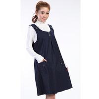 2015 Spring Summer New Fashion Maternity Clothing Denim Tank Dress for Pregnant Women Suspender Skirt Pregnancy Overalls Gravida