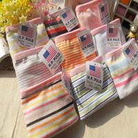 Ms cotton cotton underwear breathable cute underwear striped pants and comfortable underwear