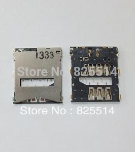 20PCS/lot, original and new sim card reader holder for Sony Z LT36 L36 L36H C6602 C6603 slot tray module,free shipping