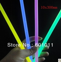 Wholesale fluorescence stick liquid Glow stick party supply KTV light 10x300mm 24pcs/pail fast delivery free shipping