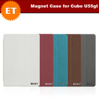 7.9 Inch Magnet Special Leather Case for Cube U55gt Talk 79 3G Phone Call Tablet PC