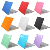 "Rubberized Fosted Matte Cover Case For Macbook All Models Air 11"",13"",Pro 13"",15"", New Retina, Free ship, with or without logo"