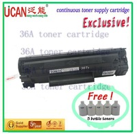 (12000 page)Hot saling.36A toner cartridge compatible for LBP-3250 ,lowest print cost of world,ptfe filter cartridge