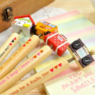 Stationery wool cartoon ballpoint pen(China (Mainland))