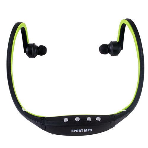 New 2014 Sport Wireless Earphones Headphones Music MP3 Player TF Card FM radio Headset #40806(China (Mainland))