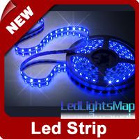 5M 500cm 5050 SMD 300 LED Strip Light Blue Waterproof+DHL EMS Free Shipping 100M/lot Bulk