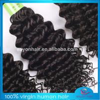Sexy fashional 5a grade peruvian deep curly hair for your nice hair 12-24inch luvin hair preruvian 4pcs lot free shipping