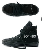 sale hot sale black men and women high and low style casual canvas shoes sports shoes