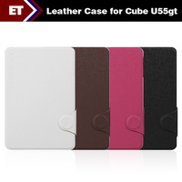 Bundle Sale 7.9 Inch Magnet Special Leather Case for Cube U55gt Talk 79 3G Phone Call Tablet PC (NOT SELL ALONE!!!)