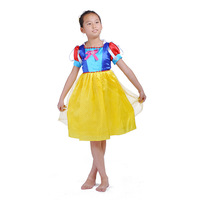 Free-Shipping   Children /Girl 's  Stage  Performance Clothing   Snow White Princess Party  Dress
